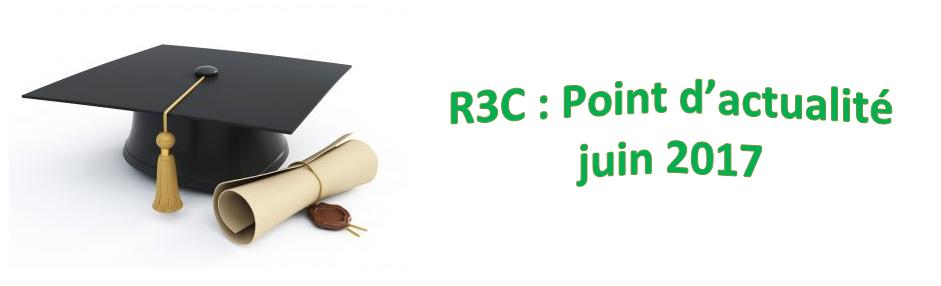 R3C : Point d'actualité – juin 2017