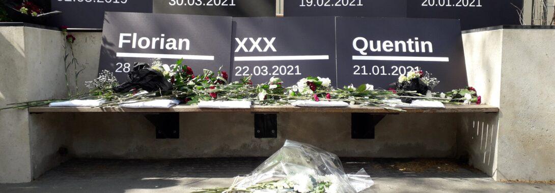 Hommage aux internes tués par l'hôpital public (#ProtegeTonInterne)