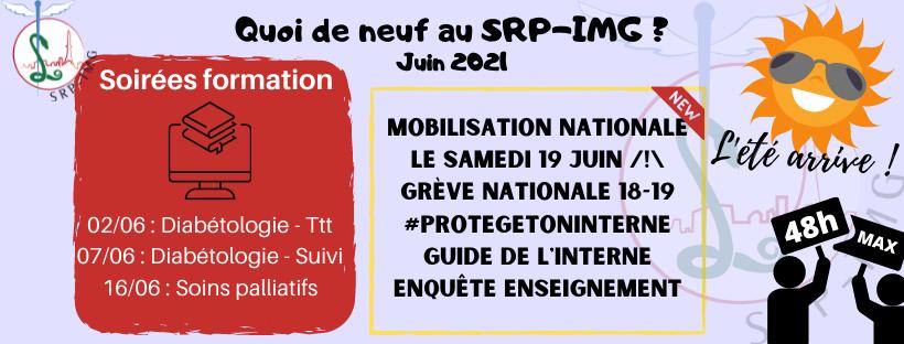 Newsletter : Juin 2021